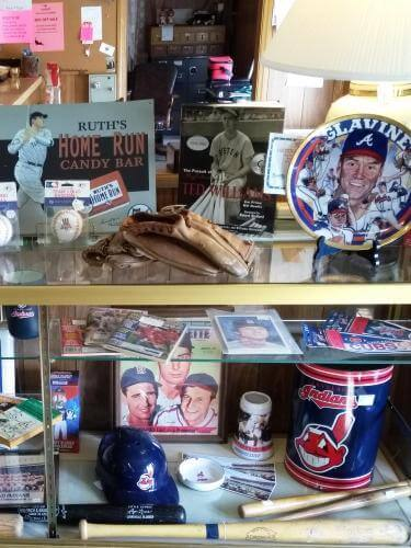 Ohio Antiques - Sports, Baseball, Cleveland Indians, Babe Ruth, Yankees at Aunties Antique Mall